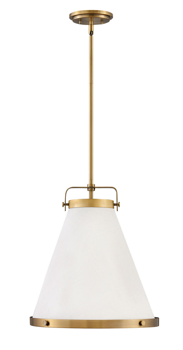 Hinkley 4993LCB One Light Pendant-Pendants-HomePlumbing