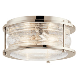 Kichler Two Light Flush Mount 42910PN