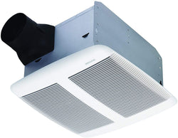 Broan Sensonic Bathroom Exhaust Fan with Bluetooth Speaker, ENERGY STAR Certified, 1.0 Sones, 110 CFM, White