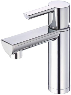 Danze DH221677 Adonis Single Handle Bathroom Faucet with Metal Touch-Down Drain, Chrome