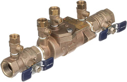 Febco 0683039 LF850-QT Double Check Backflow Valve Quarter Turn Shutoff, 3/4""