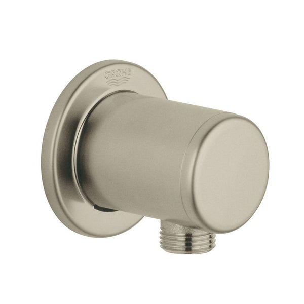 Grohe Shower Outlet Wall Union, Brushed Nickel