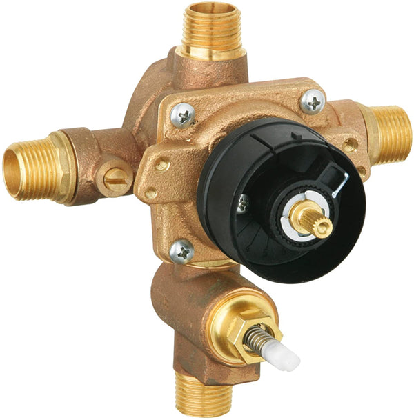 Grohsafe Pressure Balance Rough-In Valve With Built-In Spring Loaded Diverter