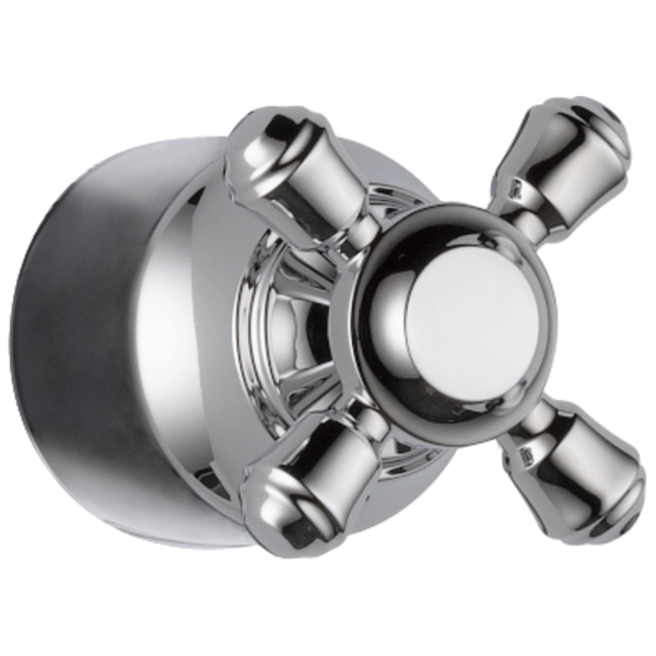 Delta Cassidy H595 Metal Cross Handle Kit - Transfer Valve Chrome-Showering Component-HomePlumbing