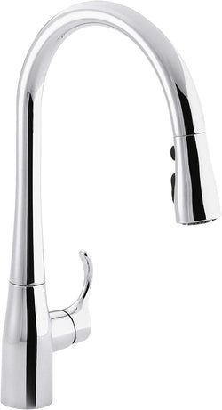 Kohler K-596-CP Simplice Kitchen Faucet, Polished Chrome