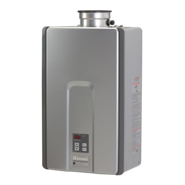 Rinnai Internal Whole House Liquid Propane Tankless Water Heater 7.5 Gallons Per Minute with Isolation Valves RL75iP-tankless water heater-HomePlumbing