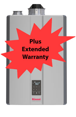 Rinnai I- Series i090CN Boiler W/ Extended 2 Year Repair Warranty