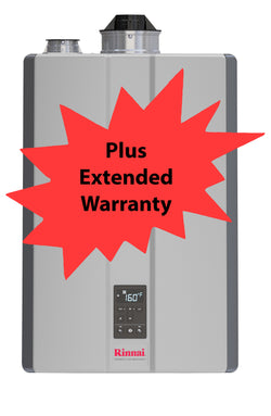 Rinnai I- Series i120CN Boiler W/ Extended 2 Year Repair Warranty