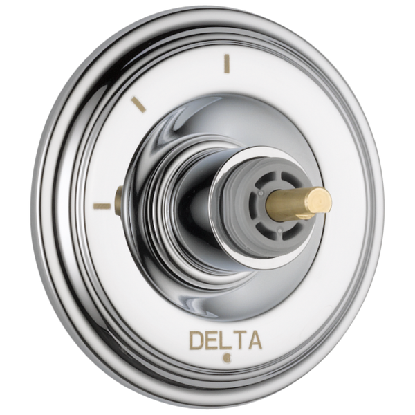Delta Cassidy T11897-LHP 3-Setting 2-Port Diverter Trim - Less Handle Chrome-Showering Component-HomePlumbing
