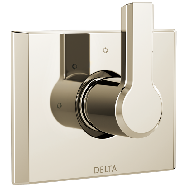 Delta Pivotal T11899-PN 3-Setting 2-Port Diverter Trim Polished Nickel-Showering Component-HomePlumbing