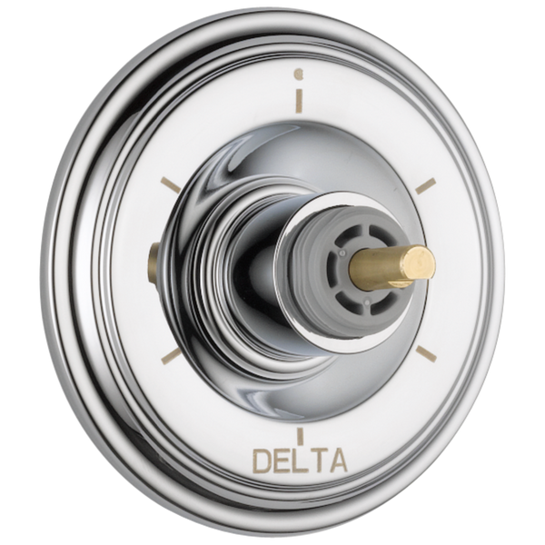 Delta Cassidy T11997-LHP 6-Setting 3-Port Diverter Trim - Less Handle Chrome-Showering Component-HomePlumbing