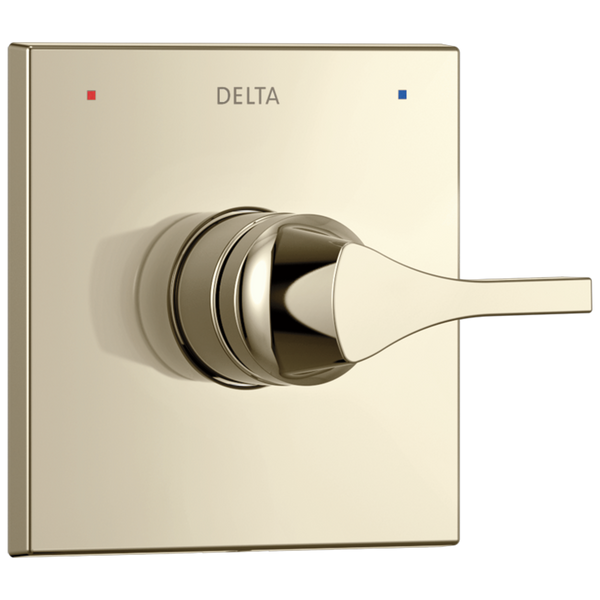 Delta Zura T14074-PN Monitor 14 Series Valve Only Trim Polished Nickel-Tub / Shower-HomePlumbing