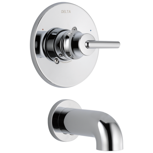 Delta Trinsic T14159 Monitor 14 Series Tub Trim Chrome-Tub / Shower-HomePlumbing