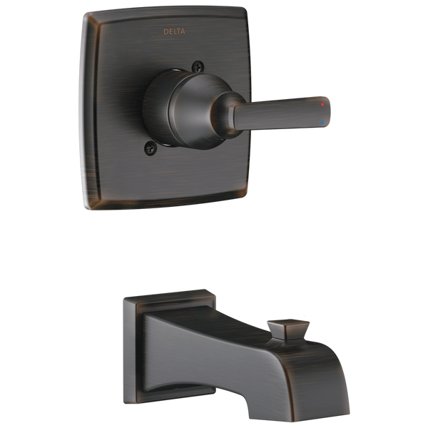 Delta Ashlyn T14164-RB Monitor 14 Series Tub Trim Venetian Bronze-Tub / Shower-HomePlumbing