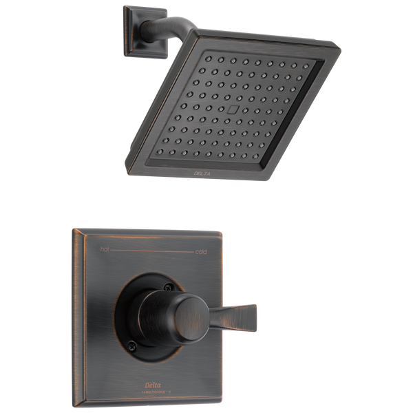 Delta Dryden T14251-RB-WE Monitor 14 Series Shower Trim Venetian Bronze-Tub / Shower-HomePlumbing