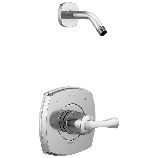Delta Stryke T14276-LHD 14 Series Shower Only Less Head Chrome-Tub / Shower-HomePlumbing
