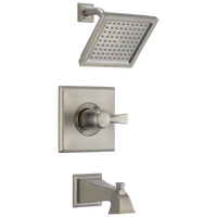Delta Dryden T14451-SS-WE Monitor 14 Series Tub & Shower Trim Stainless-Tub / Shower-HomePlumbing