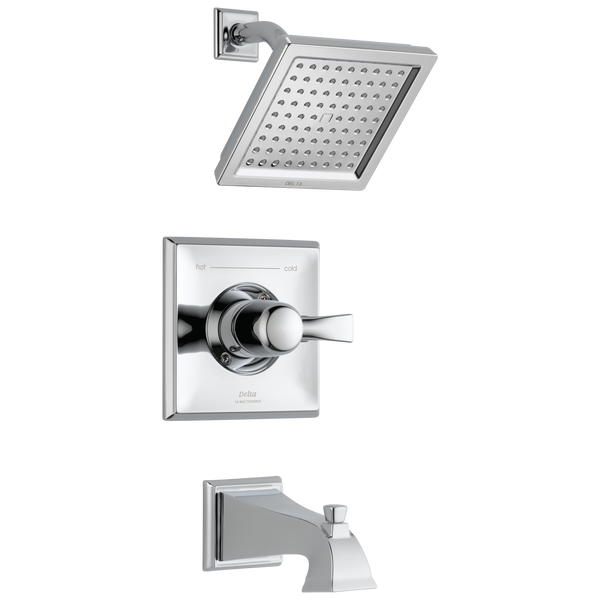 Delta Dryden T14451-WE Monitor 14 Series Tub & Shower Trim Chrome-Tub / Shower-HomePlumbing