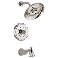 Delta Cassidy T14497-PNLHP Monitor 14 Series H2Okinetic Tub & Shower Trim - Less Handle Polished Nickel-Tub / Shower-HomePlumbing