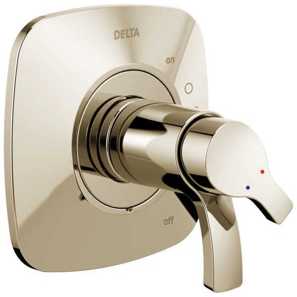 Delta Tesla T17052-PN Monitor 17 Series Valve Only Trim Polished Nickel-Tub / Shower-HomePlumbing