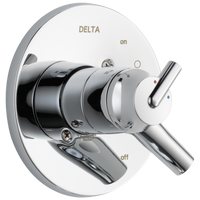 Delta Trinsic T17059 Monitor 17 Series Valve Only Trim Chrome-Tub / Shower-HomePlumbing