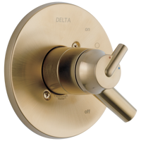 Delta Trinsic T17059-CZ Monitor 17 Series Valve Only Trim Champagne Bronze-Tub / Shower-HomePlumbing