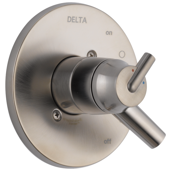 Delta Trinsic T17059-SS Monitor 17 Series Valve Only Trim Stainless-Tub / Shower-HomePlumbing