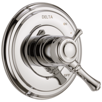 Delta Cassidy T17097-PN Monitor 17 Series Valve Only Trim Polished Nickel-Tub / Shower-HomePlumbing