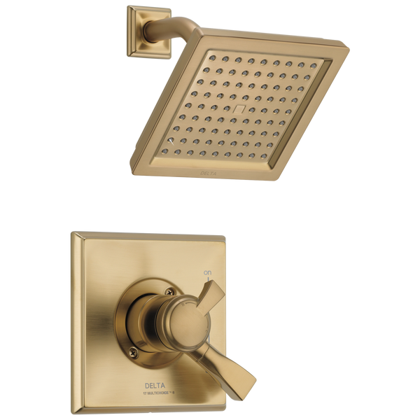 Delta Dryden T17251-CZ-WE Monitor 17 Series Shower Trim Champagne Bronze-Tub / Shower-HomePlumbing
