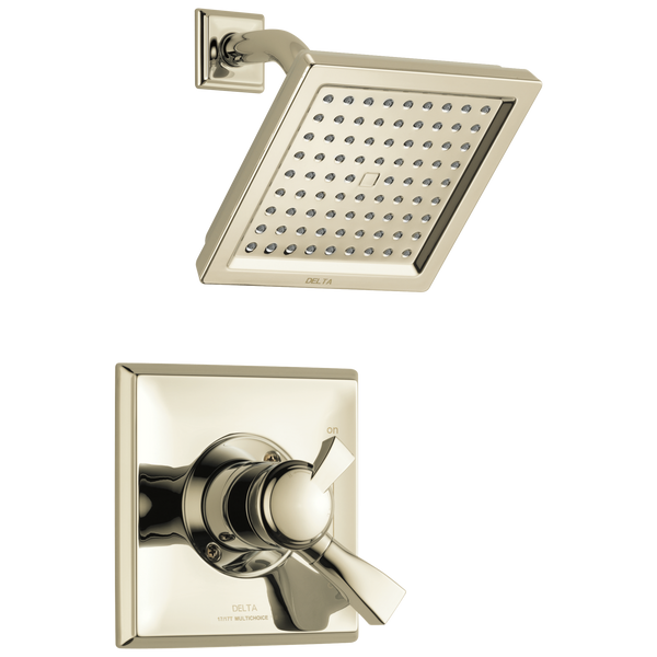 Delta Dryden T17251-PN Monitor 17 Series Shower Trim Polished Nickel-Tub / Shower-HomePlumbing