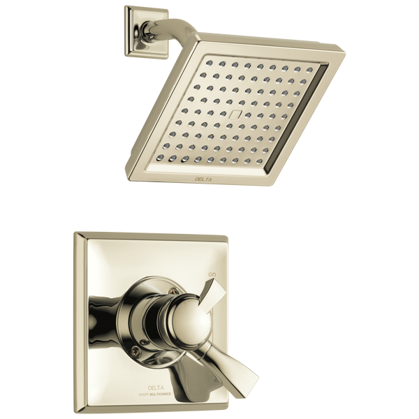 Delta Dryden T17251-PN-WE Monitor 17 Series Shower Trim Polished Nickel-Tub / Shower-HomePlumbing