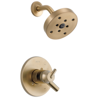Delta Trinsic T17259-CZ Monitor 17 Series H2Okinetic Shower Trim Champagne Bronze-Tub / Shower-HomePlumbing