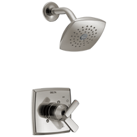 Delta Ashlyn T17264-SS Monitor 17 Series Shower Trim Stainless-Tub / Shower-HomePlumbing