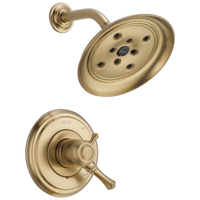 Delta Cassidy T17297-CZ Monitor 17 Series H2Okinetic Shower Trim Champagne Bronze-Tub / Shower-HomePlumbing