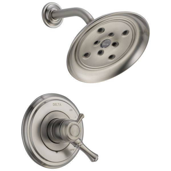 Delta Cassidy T17297-SS Monitor 17 Series H2Okinetic Shower Trim Stainless-Tub / Shower-HomePlumbing