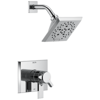 Delta Pivotal T17299 Monitor 17 Series H2Okinetic Shower Trim Chrome-Tub / Shower-HomePlumbing