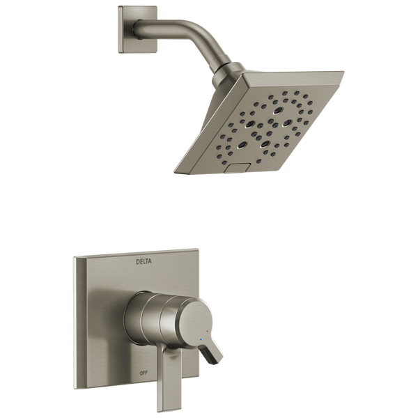 Delta Pivotal T17299-SS Monitor 17 Series H2Okinetic Shower Trim Stainless-Tub / Shower-HomePlumbing