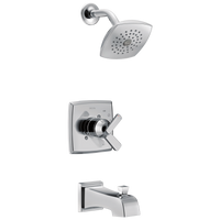 Delta Ashlyn T17464 Monitor 17 Series Tub & Shower Trim Chrome-Tub / Shower-HomePlumbing