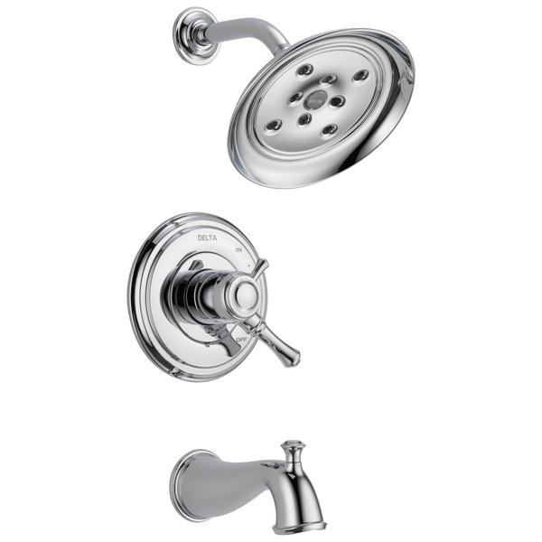 Delta Cassidy T17497 Monitor 17 Series H2Okinetic Tub & Shower Trim Chrome-Tub / Shower-HomePlumbing