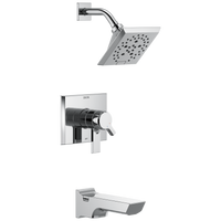 Delta Pivotal T17499 Monitor 17 Series H2Okinetic Tub and Shower Trim Chrome-Tub / Shower-HomePlumbing