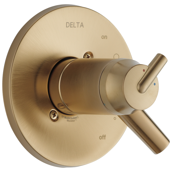 Delta Trinsic T17T059-CZ TempAssure 17T Series Valve Only Trim Champagne Bronze-Tub / Shower-HomePlumbing
