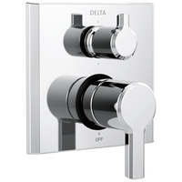 Delta Pivotal T24999 14 Series Integrated Diverter Trim - 6 Function Diverter Chrome-Showering Component-HomePlumbing
