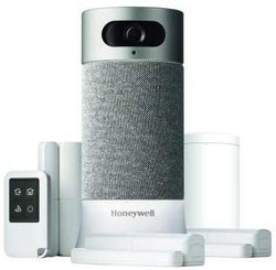 Honeywell CHS5500WF6002/U Home Security System Compatible with Alexa (Medium Kit)
