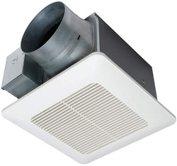 Panasonic FV-1115VQ1 WhisperCeiling DC Ventilation Fan, Speed Selector, SmartFlow Technology, Quiet
