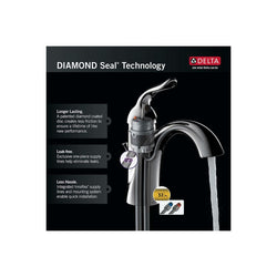 Delta Faucet 711LF-HDF, 7.72 x 8.00 x 7.72 inches, Chrome
