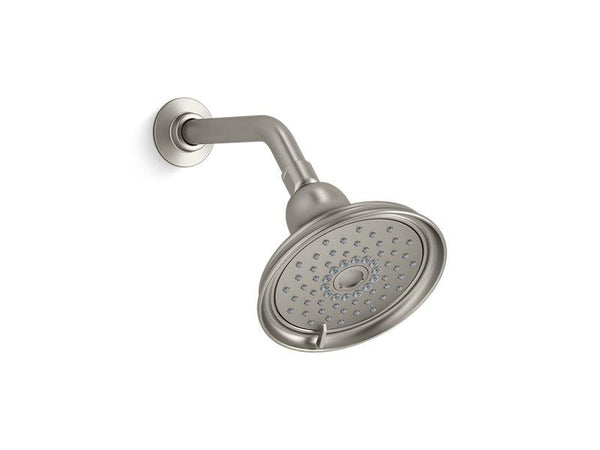 Kohler 22167-G-BN Bancroft® 1.75 gpm multifunction showerhead with Katalyst® air-induction technology-Showerheads-HomePlumbing