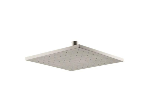 Kohler 13696-BN Contemporary Square 10 Contemporary Square 2.5 gpm rainhead with Katalyst® air-induction technology-Rainheads-HomePlumbing