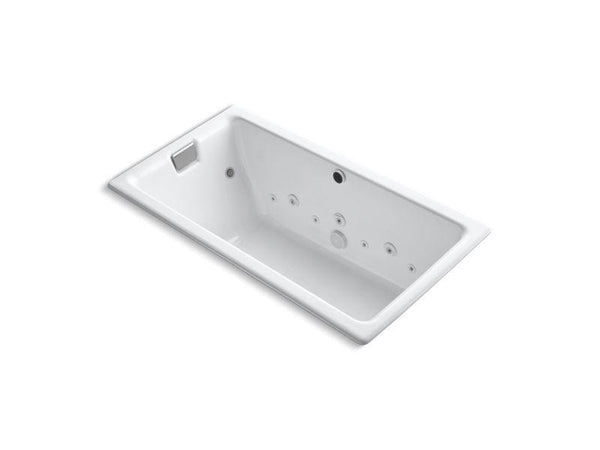 Kohler 856-AH-0 Tea-for-Two 66 x 36 drop-in Effervescence bath whirlpool with spa package-Bathing-HomePlumbing