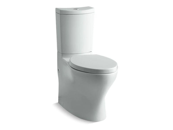 Kohler 6355-95 Persuade Curv Comfort Height two-piece elongated dual-flush toilet with top-mount actuator and skirted trapway, seat not included - HomePlumbing