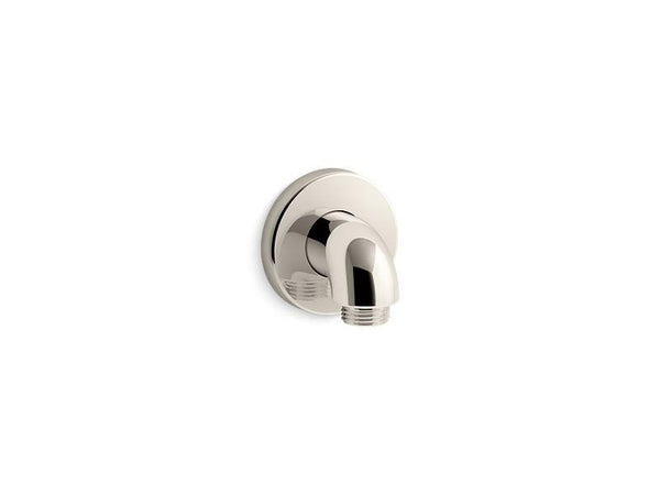 Kohler 22172-SN Purist wall-mount supply elbow with check valve-Shower Fittings-HomePlumbing